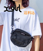 X-girl Street Style Shoulder Bags