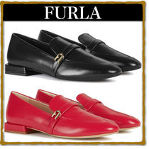 FURLA Leather Loafer & Moccasin Shoes
