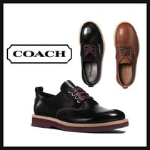 Coach Leather Oxfords