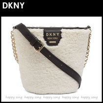 DKNY Casual Style 2WAY Elegant Style Shoulder Bags