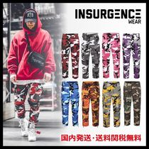 Insurgence Wear Printed Pants Camouflage Unisex Street Style Patterned Pants