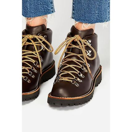 Danner Mountain Boots Casual Style Unisex Plain Leather
