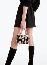 Uterque Casual Style Nylon Bag in Bag Vanity Bags 2WAY Party Style