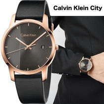 Calvin Klein Street Style Quartz Watches Analog Watches