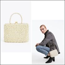 Uterque Casual Style 2WAY Party Style Elegant Style Shoulder Bags