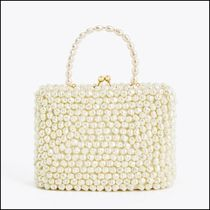 Uterque Casual Style 2WAY Party Style Elegant Style Crossbody