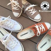 CONVERSE ALL STAR Rubber Sole Casual Style Plain Slip-On Shoes