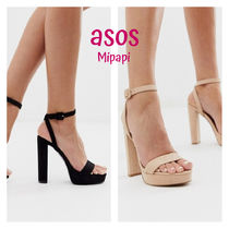 ASOS Open Toe Block Heels Heeled Sandals