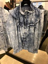 Isabel Marant Denim Long Sleeves Plain Shirts & Blouses