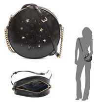 DKNY Star Casual Style Leather Elegant Style Shoulder Bags