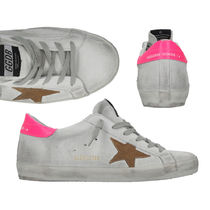 Golden Goose Star Round Toe Rubber Sole Casual Style Suede Street Style