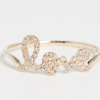 Party Style 14K Gold Elegant Style Rings
