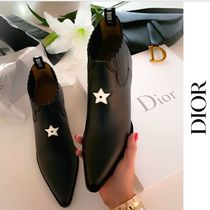 Christian Dior Chunky Heels Ankle & Booties Boots