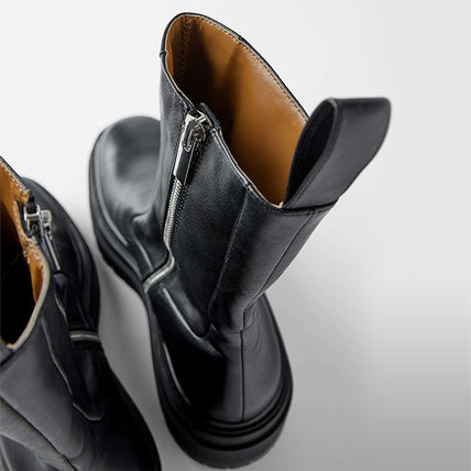 ZARA More Boots Street Style Leather Boots Boots 8