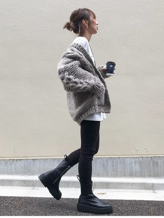ZARA More Boots Street Style Leather Boots Boots 3