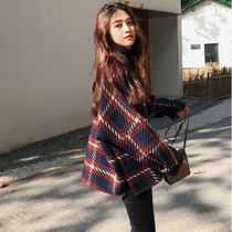Casual Style Street Style Plain Elegant Style Chester Coats