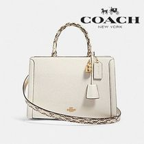 Coach Casual Style Calfskin Street Style 2WAY Plain