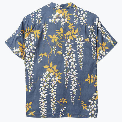 Tropical Patterns Unisex Plain Cotton Short Sleeves Handmade