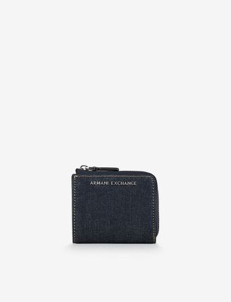 Other Check Patterns Faux Fur Special Edition Long Wallets