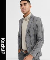 ASOS Other Check Patterns Street Style Blazers Jackets