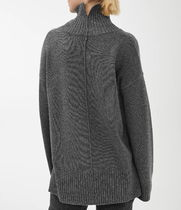 ARKET Casual Style Wool Cashmere Long Sleeves Plain Party Style