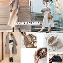 BOTTEGA VENETA THE POUCH Casual Style Leather Party Style Shoulder Bags