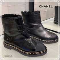 CHANEL Casual Style Street Style Plain Handmade Elegant Style