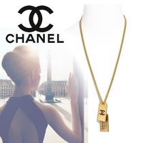 CHANEL Costume Jewelry Casual Style Unisex Street Style Chain