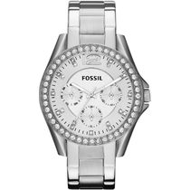 Fossil Round Quartz Watches Jewelry Watches Stainless