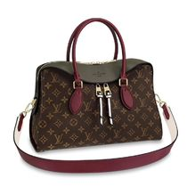 Louis Vuitton TUILERIES Monogram Casual Style 2WAY Plain Leather Party Style
