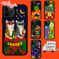 wiggle wiggle Star Tropical Patterns Unisex Street Style Silicon iPhone 8