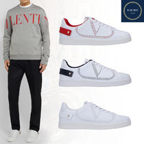 VALENTINO VLOGO Studded Street Style Sneakers
