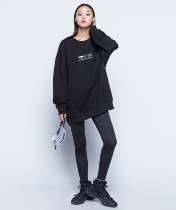 Unisex Sweat Street Style Long Sleeves Other Animal Patterns