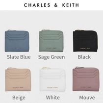 Charles&Keith Unisex Faux Fur Coin Cases