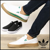 adidas Casual Style Unisex Street Style Plain Logo Slip-On Shoes