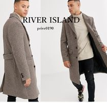 River Island Other Check Patterns Chester Coats