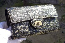 CHANEL TIMELESS CLASSICS Unisex Other Animal Patterns Leather Long Wallet