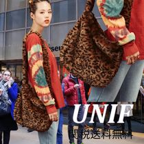 UNIF Clothing Leopard Patterns Casual Style Street Style Party Style
