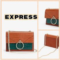 EXPRESS Party Style Office Style Elegant Style Shoulder Bags
