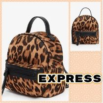 EXPRESS Casual Style Street Style Other Animal Patterns Party Style