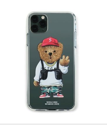 Unisex Street Style Plain Smart Phone Cases
