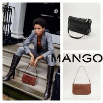MANGO Other Animal Patterns Shoulder Bags