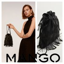 MANGO 2WAY Party Style Fringes Party Bags