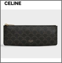 CELINE Triomphe Canvas Unisex Stationary