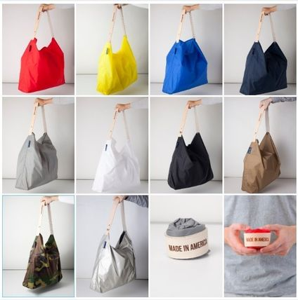 Camouflage Casual Style Unisex Nylon Street Style Bag in Bag