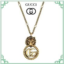 GUCCI Casual Style Initial Animal Party Style Office Style