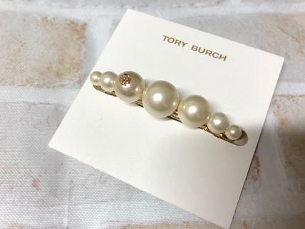 Tory Burch Barettes Casual Style Office Style Elegant Style Clips