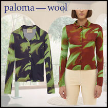 Paloma Wool Casual Style Long Sleeves Elegant Style Shirts & Blouses
