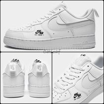 Nike AIR FORCE 1 Casual Style Unisex Street Style Plain Office Style