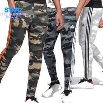 adidas Tapered Pants Printed Pants Camouflage Unisex Street Style